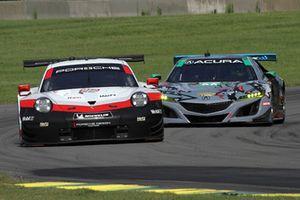 #912 Porsche Team North America Porsche 911 RSR, GTLM: Laurens Vanthoor, Earl Bamber