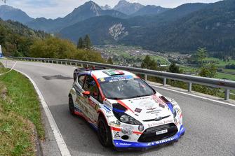 Bancher Pierleonardo, Longo Giandomenico, Ford Fiesta WRC, Pintarally Motosport