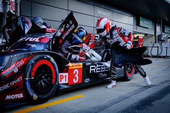 #3 Rebellion Racing Rebellion R-13: Mathias Beche, Gustavo Menezes