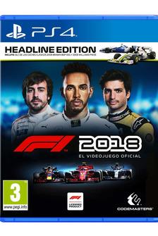 Portada del videojuego F1 2018