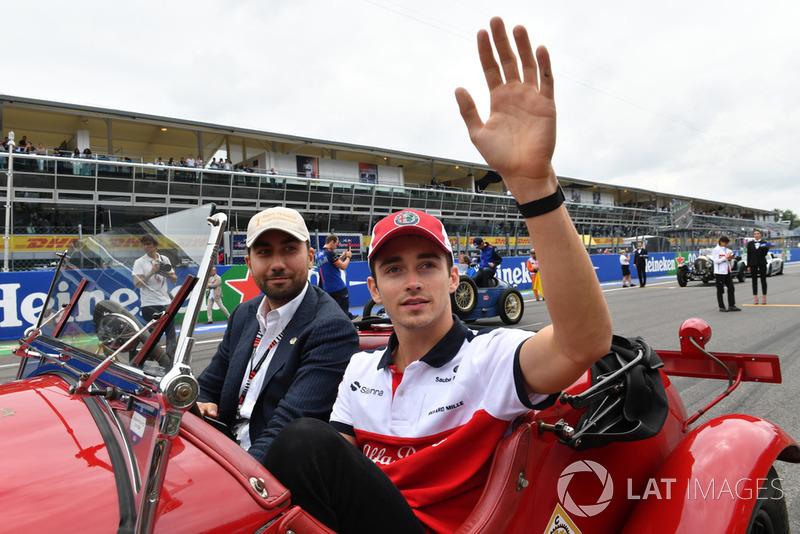 Su destino era la titularidad en Fórmula 1, y así se estrenó este 2018 de la mano de Alfa Romeo Sauber, respaldado por Ferrari.