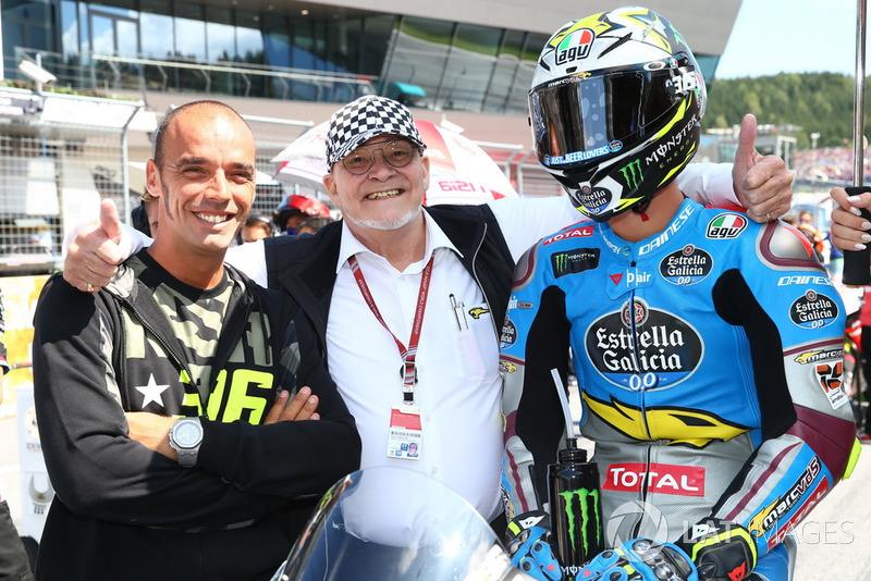 Joan Mir, Marc VDS and Marc Van Der Straten