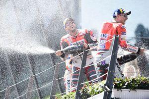 2. Marc Marquez, Repsol Honda Team, 3. Andrea Dovizioso, Ducati Team
