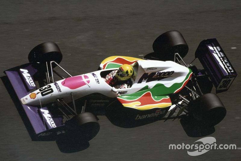 Foi para a Europa em 1991, conquistando já de cara o título de F3000 (equivalente à Fórmula 2 atualmente) pela equipe Pacific