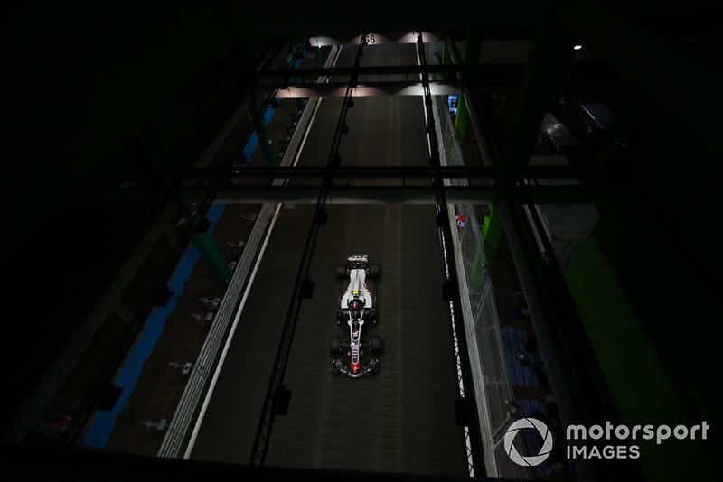 Gran Premio de Singapur-Kevin Magnussen