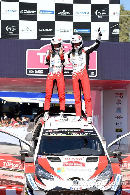 Ganador Ott Tänak, Martin Järveoja, Toyota Gazoo Racing