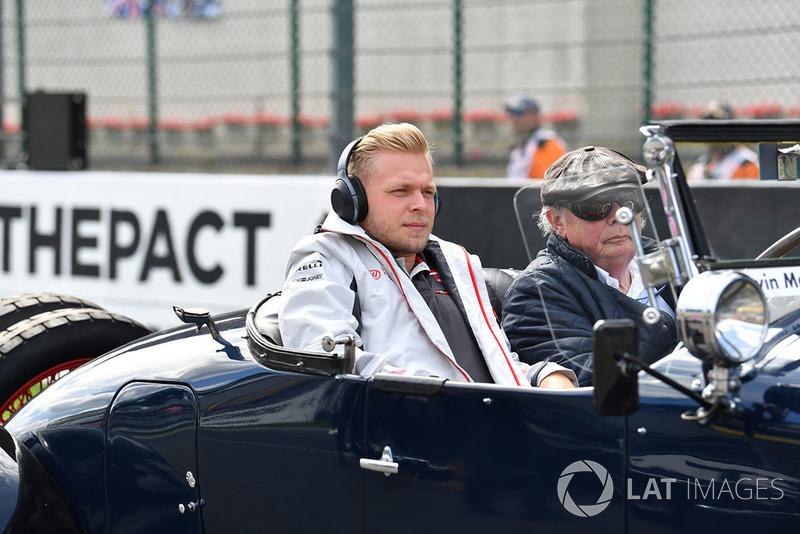 Kevin Magnussen, Haas F1 Team, parada kierowców