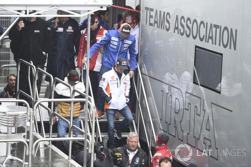 Дані Педроса, Repsol Honda Team, після засідання Комісії з безпеки