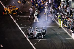 Josef Newgarden, Team Penske Chevrolet, Ryan Hunter-Reay, Andretti Autosport Honda
