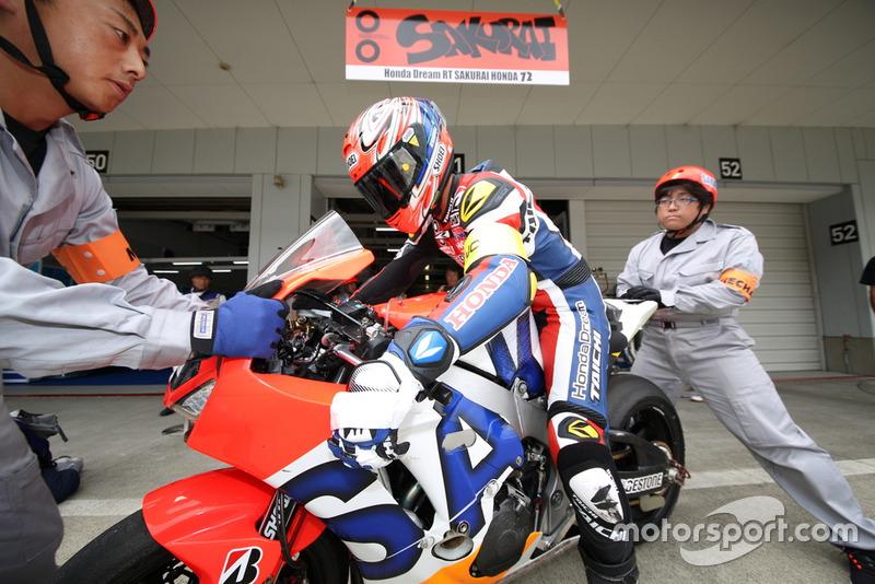 Ito Shinichi (# 72 Honda Dream RT Sakurai Honda)