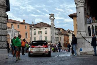 Manuel Sossella, Gabriele Falzone Ford Fiesta WRC