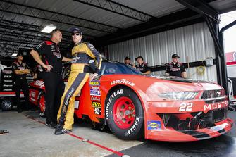 Brad Keselowski, Team Penske, Ford Mustang Snap-On