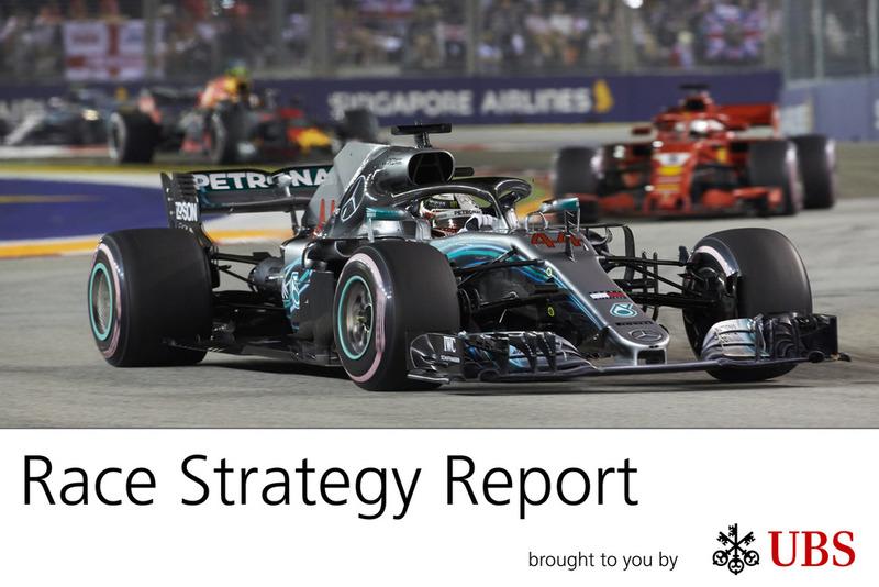 Informe estratégico de James Allen -GP de Singapur