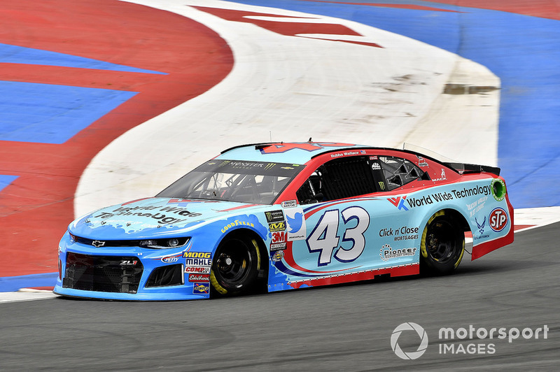 34. Darrell Wallace Jr., Richard Petty Motorsports, Chevrolet Camaro World Wide Technology