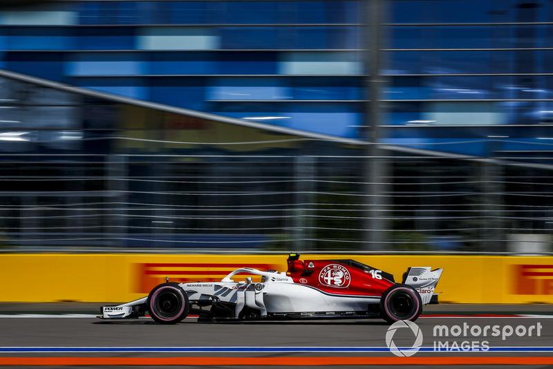7: Charles Leclerc, Sauber C37, 1'33.419