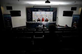 Conférence de presse : Jüri Vips, Motopark Dallara F317 - Volkswagen, Mick Schumacher, PREMA Theodore Racing Dallara F317 - Mercedes-Benz, Jonathan Aberdein, Motopark Dallara F317 - Volkswagen