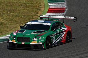 #8 Bentley Continental-GT3, Petri Corse Motorsport: Larini-Caffi
