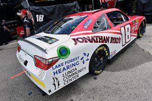 James Davison, Joe Gibbs Racing, Toyota Camry Tilson Forest Hearing Cruz