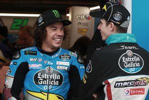 Franco Morbidelli, Estrella Galicia 0,0 Marc VDS, Alex Marc Marquez, Repsol Honda Team