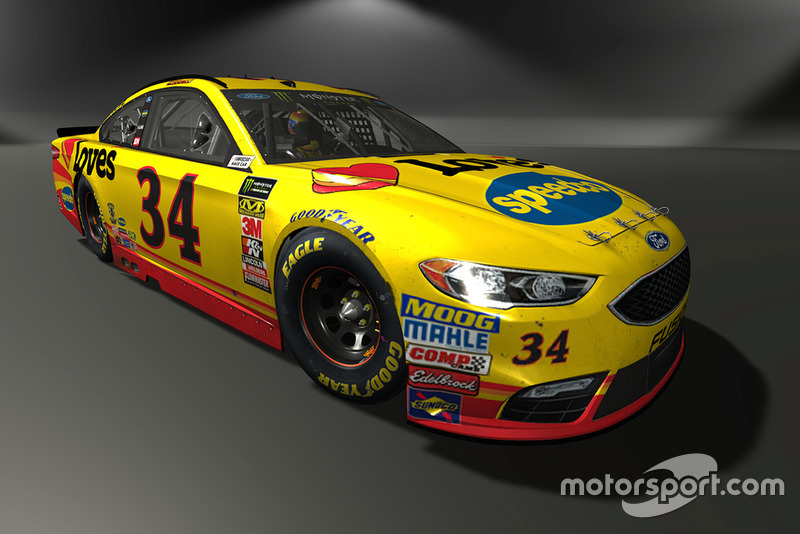 Michael McDowell, Front Row Motorsports, Ford Fusion - NASCAR Heat 3 skin