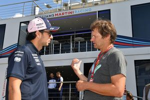 Sergio Perez, Force India en Michael Schmidt, Journalist