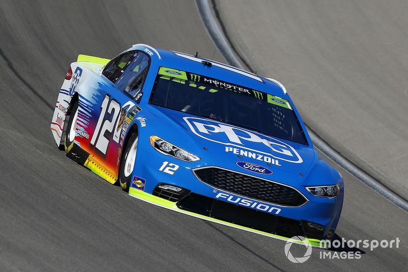 6. Ryan Blaney, Team Penske, Ford Fusion PPG