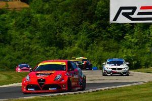 #3 Alfa Romeo Giulietta TCR, KMW Motorsports with TMR Engineering, Mark Kvamme, Trenton Estep