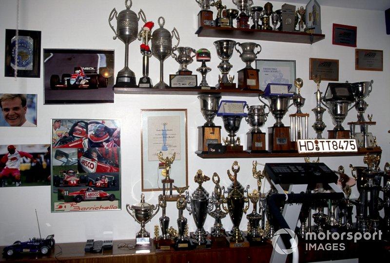 Trophies of Rubens Barrichello