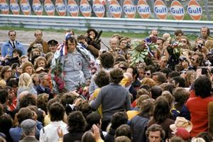 Ganador de la carrera Jackie Stewart, Tyrrell
