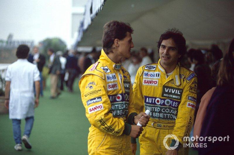1991 - Michael Schumacher et Nelson Piquet