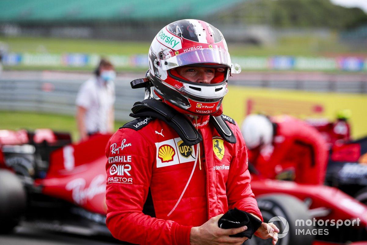 Charles Leclerc, Ferrari nel Parc Ferme