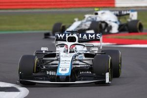 George Russell, Williams FW43, Nicholas Latifi, Williams FW43