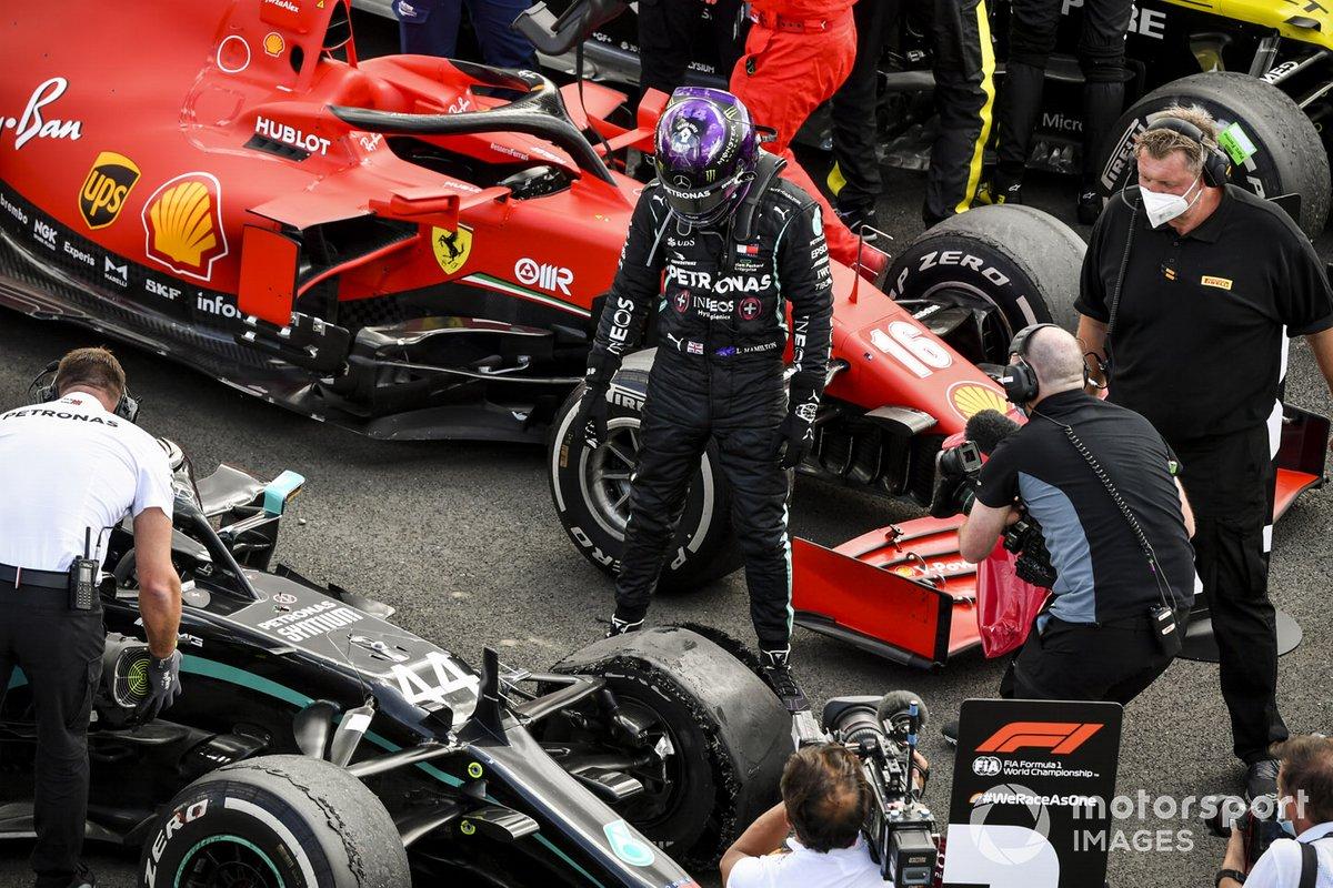 2020: Lewis Hamilton, Mercedes AMG F1 W11