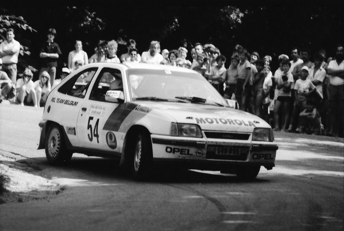Jacky Delvaux, Lionel Jaminet, Opel Kadett GSI 16V