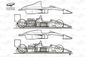 Confronto tra la McLaren MP4/4 - MP4/5