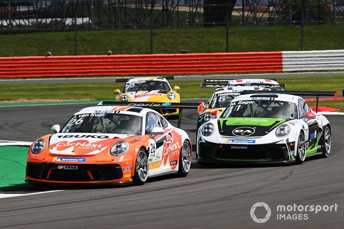 Jesse van Kujik, Team GP Elite precede Moritz Sager, Dinamic Motorsport