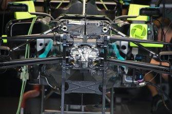 Mercedes F1 W11 front suspension detail