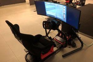 Preparazione Ferrari 24 ore virtual