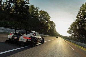 #86 Gulf Racing Porsche 911 RSR: Benjamin Barker, Andrew Watson, Adam Maguire, Eros Masciulli