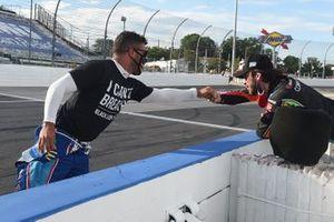 Darrell Wallace Jr., Richard Petty Motorsports, Chevrolet Camaro, Daniel Suarez, Gaunt Brothers Racing, Toyota Camry