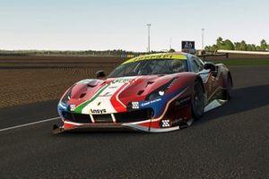 #51 Ferrari - AF Corse Ferrari 488 GTE: Nicklas Nielsen, Federico Leo, Kasper Stoltze, Amos Laurito