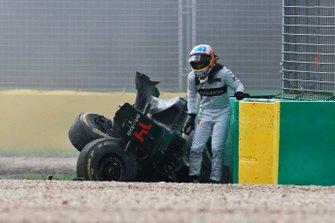 Accidente de Fernando Alonso, McLaren MP4-31