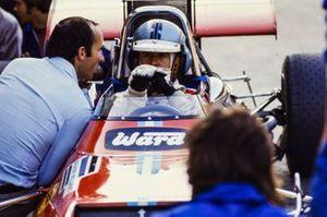 Piers Courage, Williams De Tomaso 308 Ford, con Frank Williams