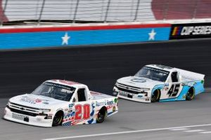 Spencer Boyd, Young's Motorsports, Chevrolet Silverado y Ty Majeski, Niece Motorsports, Chevrolet Silverado Niece