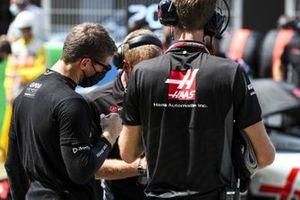 Romain Grosjean, Haas F1 on the grid