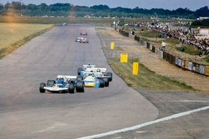 Rolf Stommelen, Surtees TS9, Chris Amon, Matra MS120B, Henri Pescarolo, Frank Williams Racing Cars, March 711