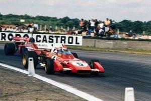 Clay Regazzoni, Ferrari 312B2, Andrea de Adamich, March 711 Alfa Romeo