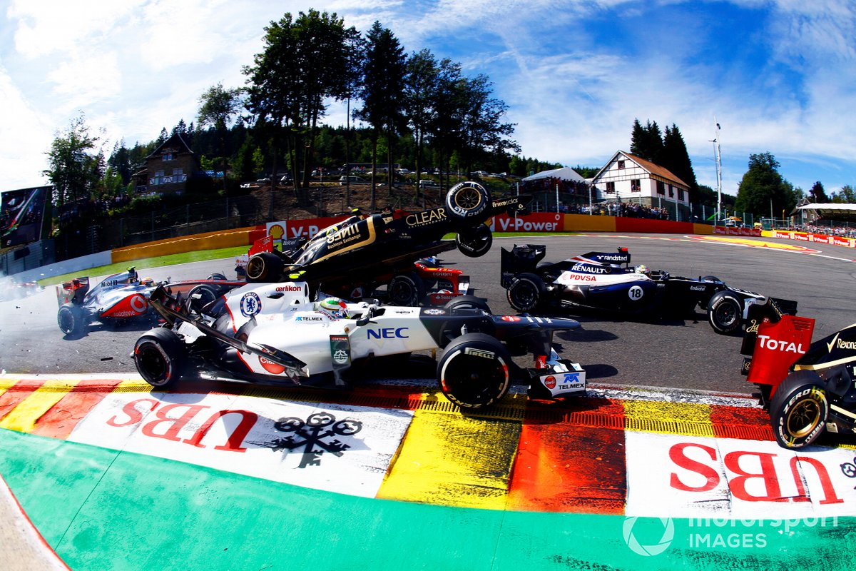 Belgien 2012: Grosjean hebt ab