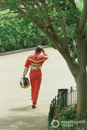 Heinz Harald Frentzen, Williams Mecachrome regresa caminando