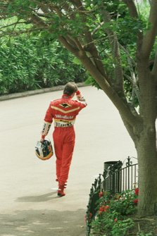 Heinz Harald Frentzen, Williams Mecachrome walks back